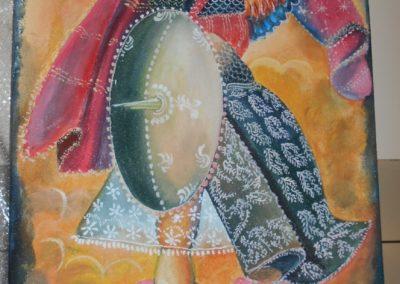 ogrzewanie na podczerwień panele na podczerwień w formie obrazu ręcznie malowany promienniki ciepła ecosun