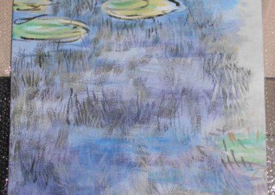 promiennik podczerwieni obraz malowany ręcznie panel grzewczy na podczerwień promiennik ciepła grzejnik na podczerwień malowany przez malarkę