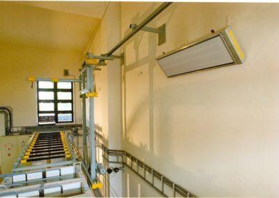 promiennik podczerwieni promiennik ciepła ogrzewanie dużej kubatury ogrzewanie hal ogrzewanie magazynów promiennik elektryczny