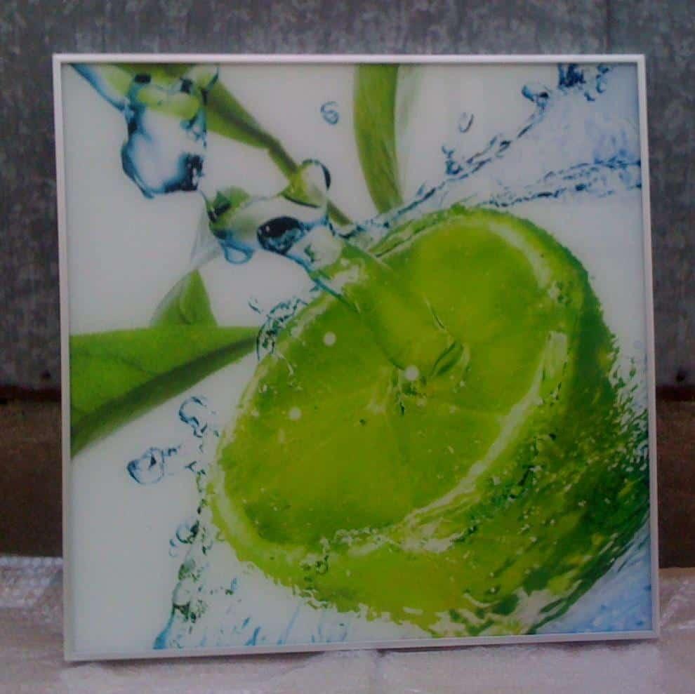 b - Promienniki szklane ze zdjęciem