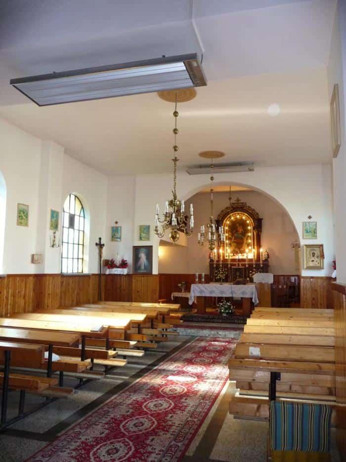 rotal promiennik ogrzewanie kosciola 4 - Kościoły