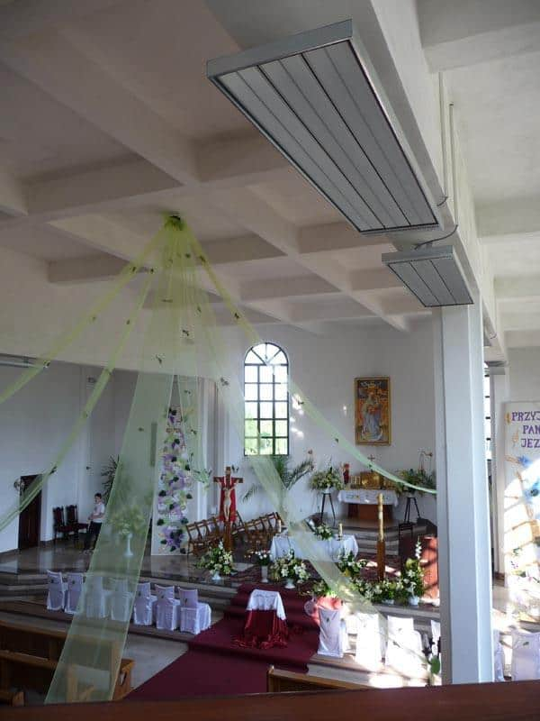 rotal promiennik ogrzewanie kosciola 6 - Kościoły