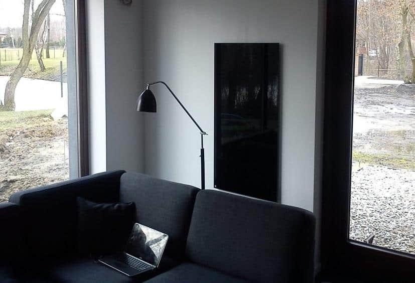 promienniki szklane i ciepłe lustra