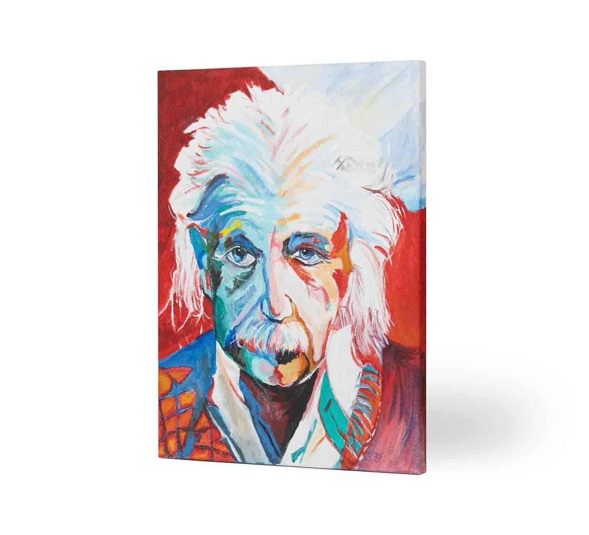einstein 30 - Promienniki obrazy ręcznie malowane