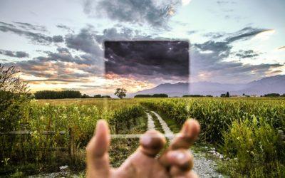 Promienniki szklane ze zdjęciem