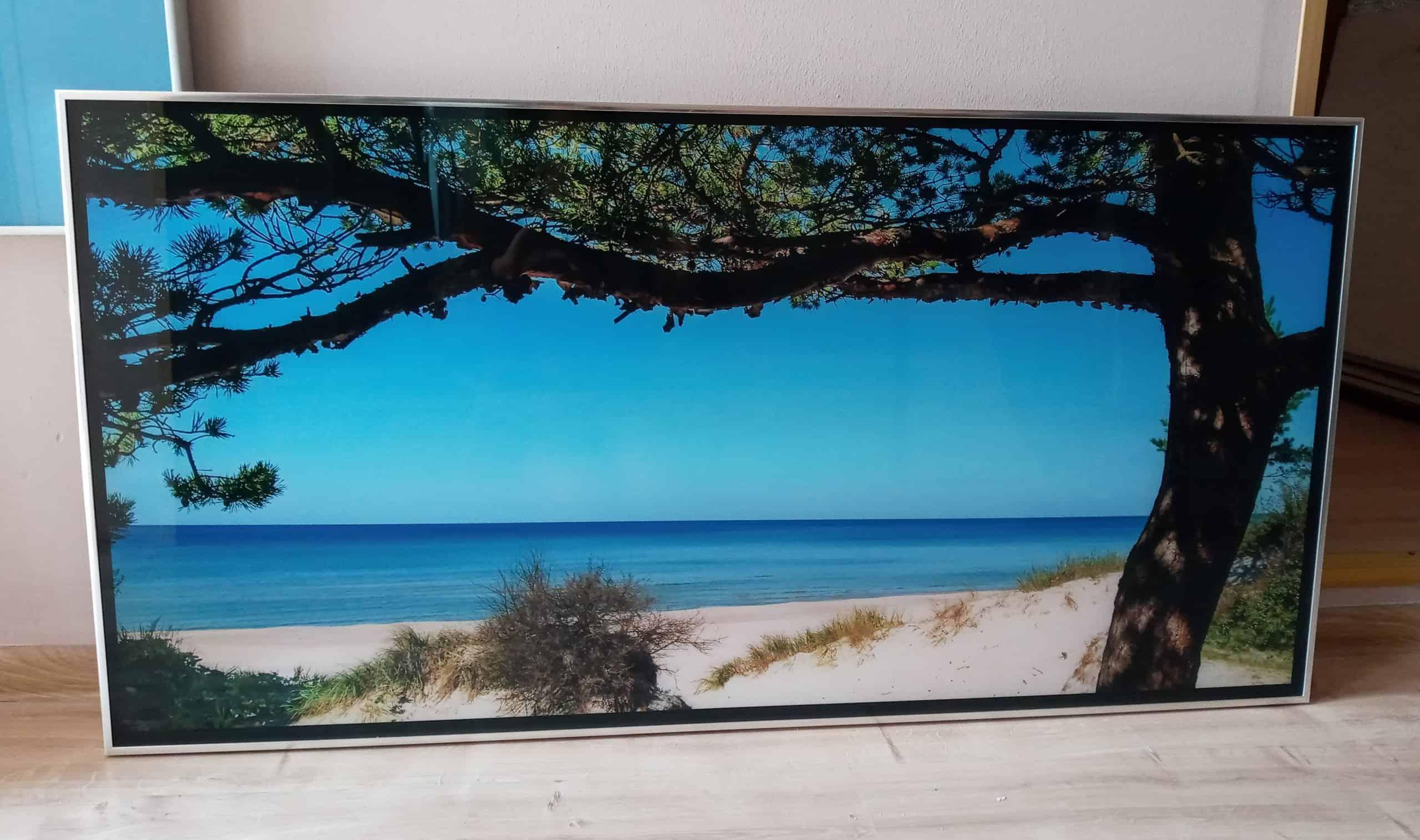 promiennik szklany ze zdjęciem rotal